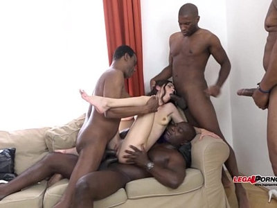 black cock   gangbang   interracial   old and young