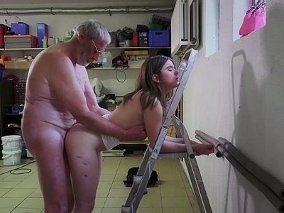 3some  fuck  grandpa  hardcore  old and young  old man